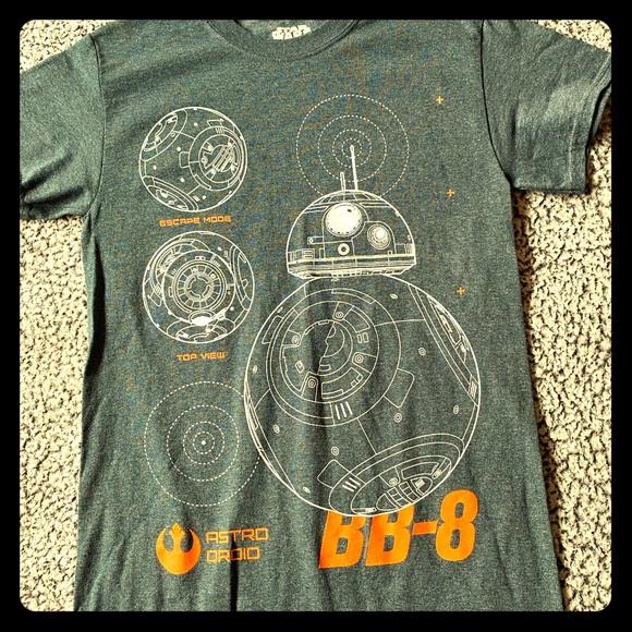 Star Wars Other - Star Wars BB-8 size small t-shirt grey